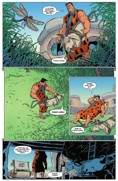 I Flintstones di Mark Russell: metafora del nostro tempo_Recensioni