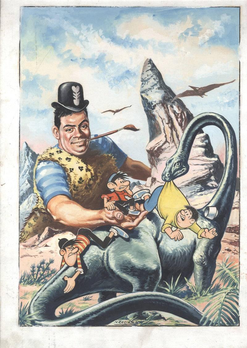Una copertina originale disegnata a quattro mani da Nevio Zeccara e Jaco...