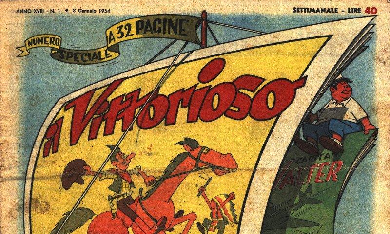 """Al WOW Spazio Fumetto la mostra su """"Il Vittorioso"""""""