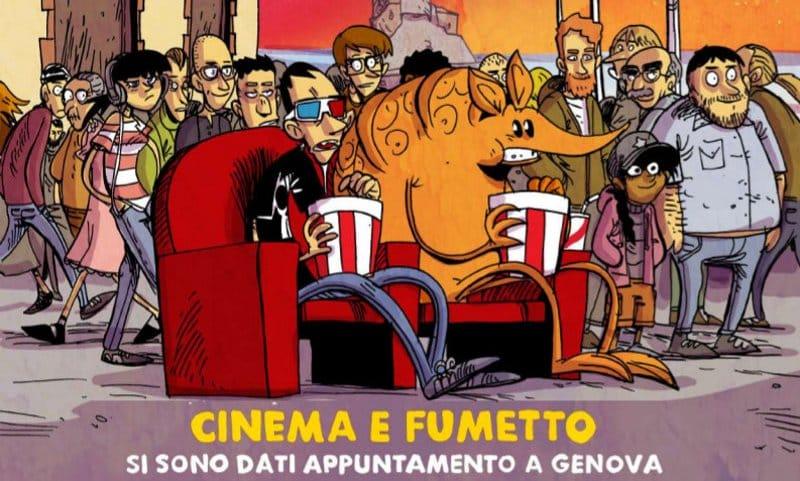 Zerocalcare firma il manifesto della 2^ edizione di Cine&Comic Fest