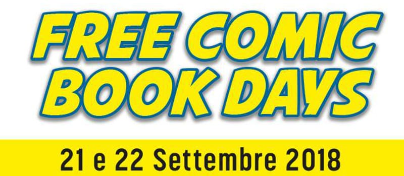 In arrivo i Free Comic Books Days 2018
