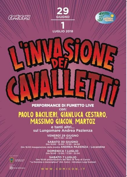 L'Invasione dei Cavalletti: dal 29 giugno a San Menaio (FG)_Notizie