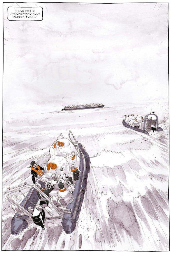 Salvezza di Rizzo e Bonaccorso: testimoniare la migrazione_Interviste