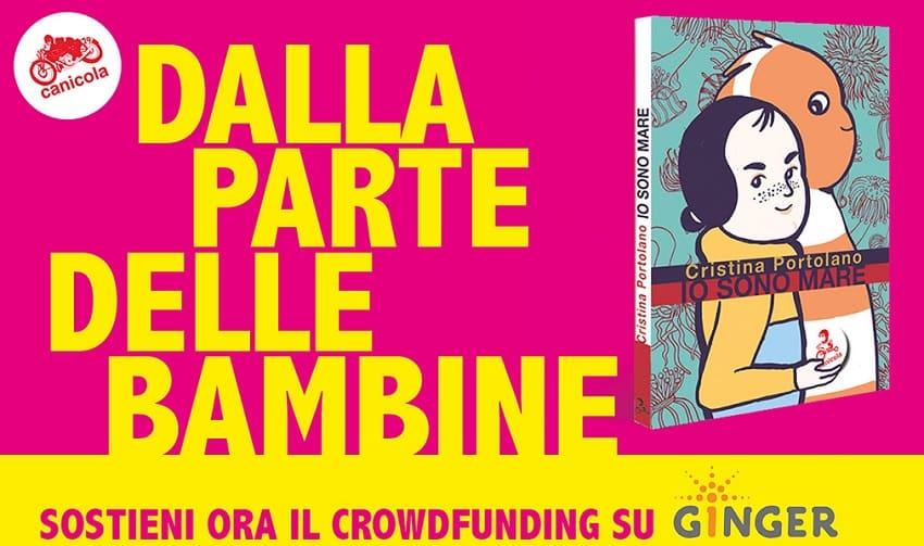 """Partito il Crowdfunding Canicola per """"Io sono il mare"""" di Cristina Portolano"""