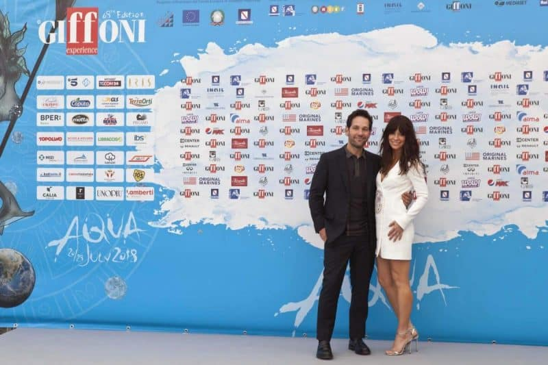 Ant-Man and The Wasp: Paul Rudd ed Evangeline Lilly a #Giffoni2018