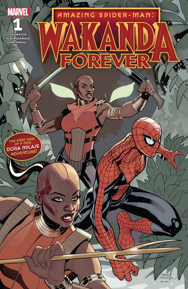 Amazing-Spider-Man-Wakanda-Forever-1_First Issue
