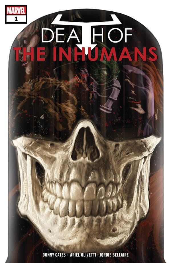 Death-Of-The-Inhumans-1_First Issue