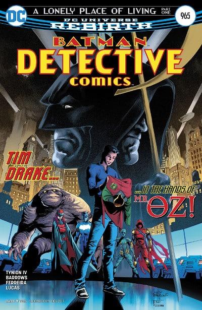 Batman #32-35: Un posto solitario dove vivere (Tynion IV, Barrows, Martìnez)_BreVisioni