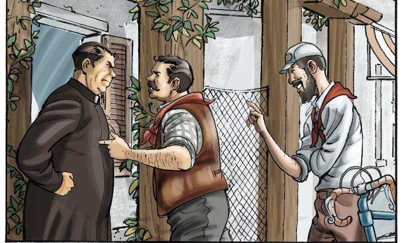 Guareschi e Don Camillo a fumetti, a Cervia