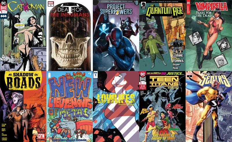 First Issue #28: il ritorno di Sentry e il debutto di Catwoman