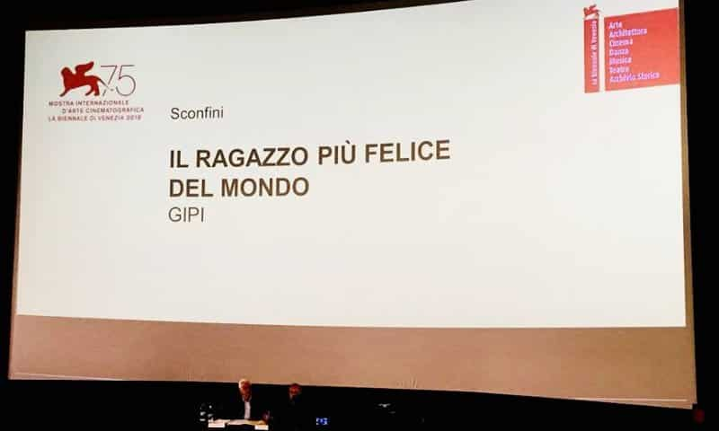 Il nuovo film di Gipi all'edizione 2018 della Mostra del Cinema di Venezia