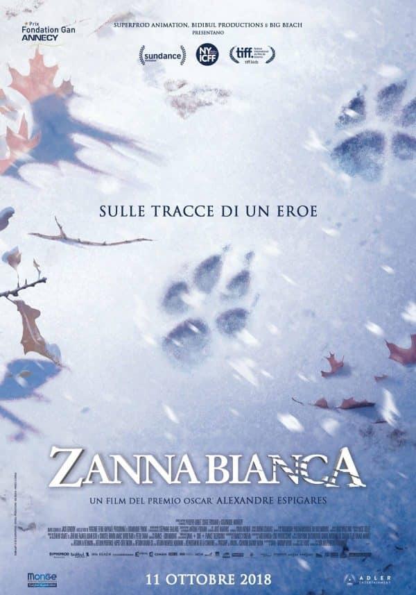 Zanna Bianca: Teaser trailer e poster del film d'animazione_Notizie