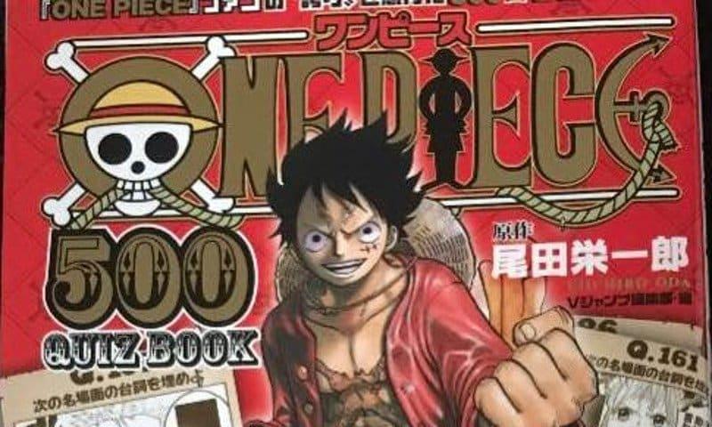 """Da Star Comics """"One Piece Quiz Book"""" e """"Dissolving Classroom"""""""