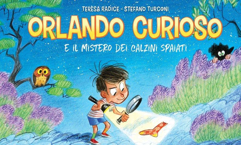 Orlando Curioso e il mistero dei calzini spaiati (Radice, Turconi)