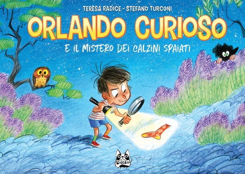 """Bao pubblica """"Orlando Curioso e il mistero dei calzini spaiati""""_Notizie"""