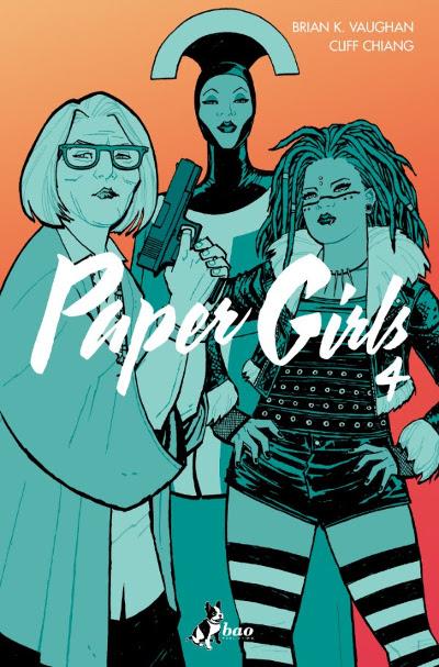 """Bao pubblica """"Paper Girls 4"""""""