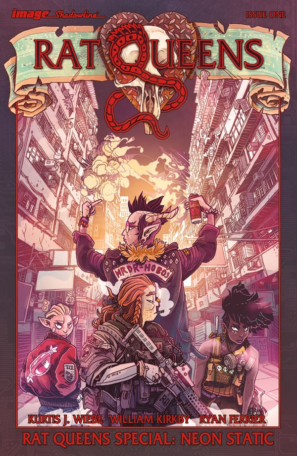 Rat Queens Special - Neon Static 1