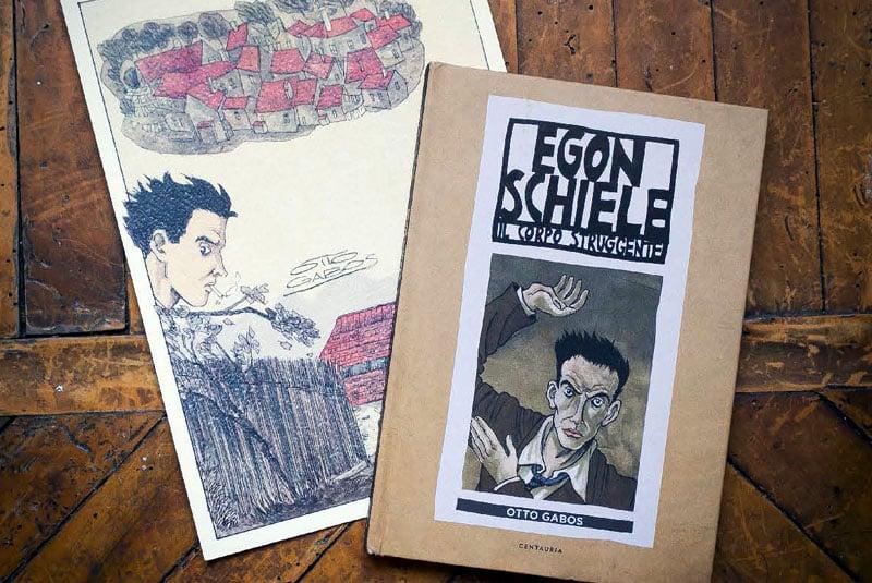 """""""Egon Schiele"""" di Otto Gabos: disponibile il libro autografato"""