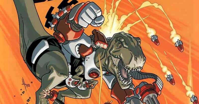 SDCC2018 – Super Dinosaur di Robert Kirkman diventa una serie animata