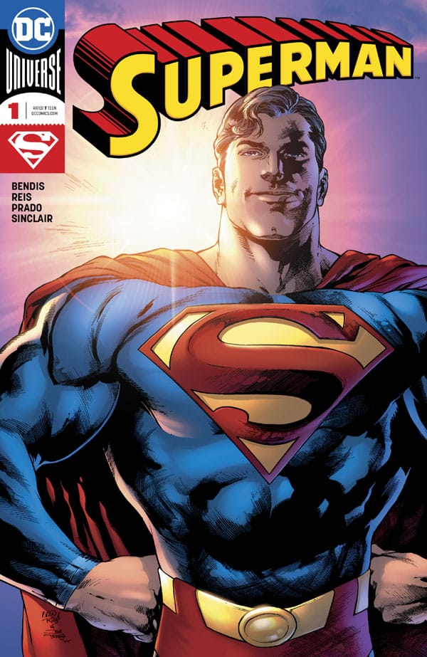 Superman-1_First Issue
