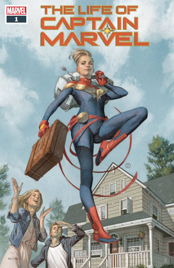 The Life Of Captain Marvel 1