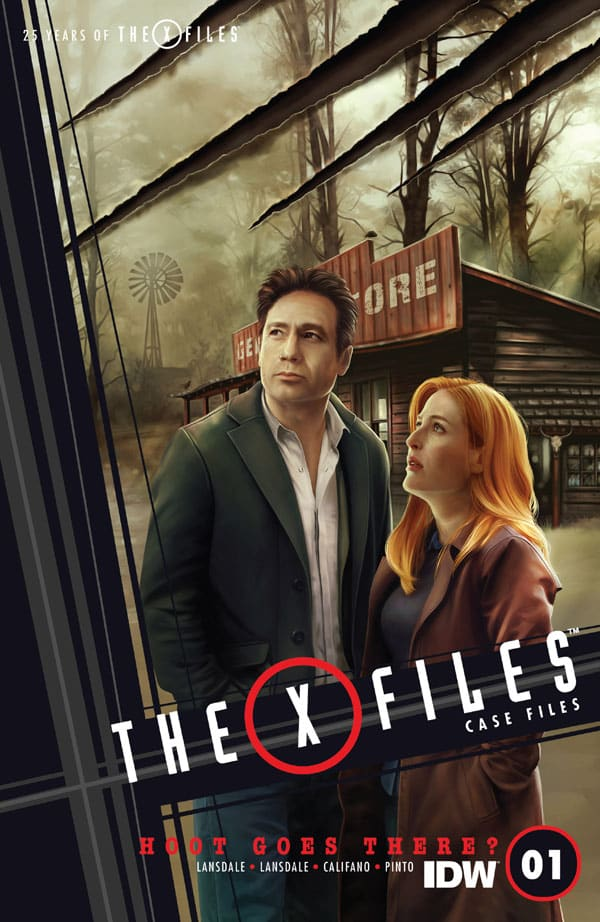 The-X-Files-Case-Files—Hoot-Goes-There-1_First Issue