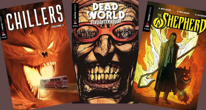 Le nuove uscite a fumetti Weird Book per l'estate 2018