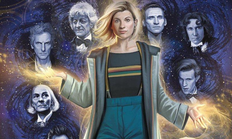 Doctor Who: cover e titolo del primo fumetto col Tredicesimo Dottore