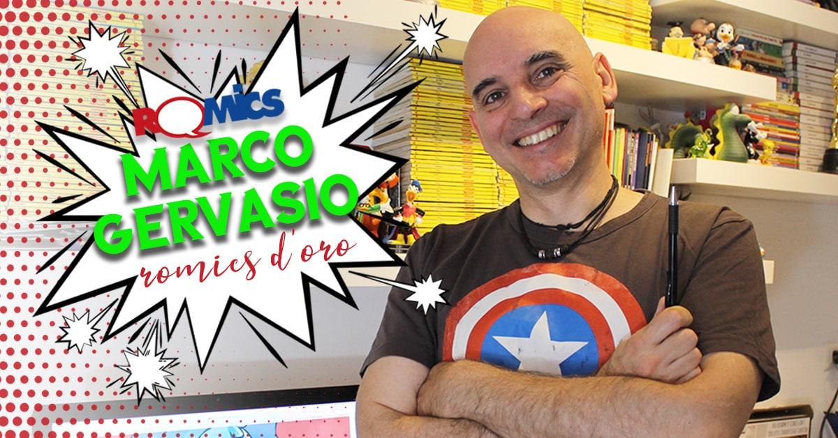 Marco Gervasio Romics d'Oro della XXIV edizione della manifestazione