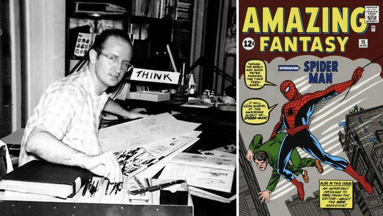 Addio a Steve Ditko, co-creatore di Spider-Man e Dottor Strange