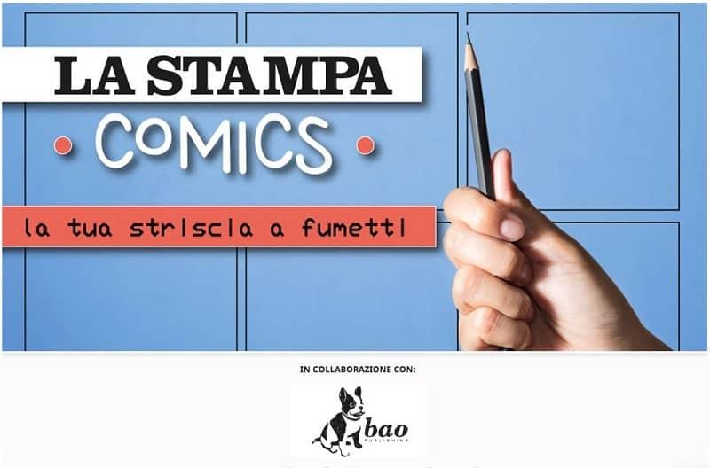 BAO Publishing e La Stampa insieme un concorso per fumettisti di strisce quotidiane