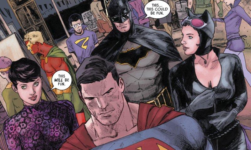 Tom King insegna a Batman le regole del fidanzamento