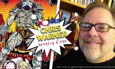 Chris Warner a Romics