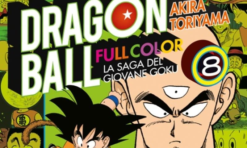 "Star Comics pubblica ""Dragon Ball Full Color"" #8"