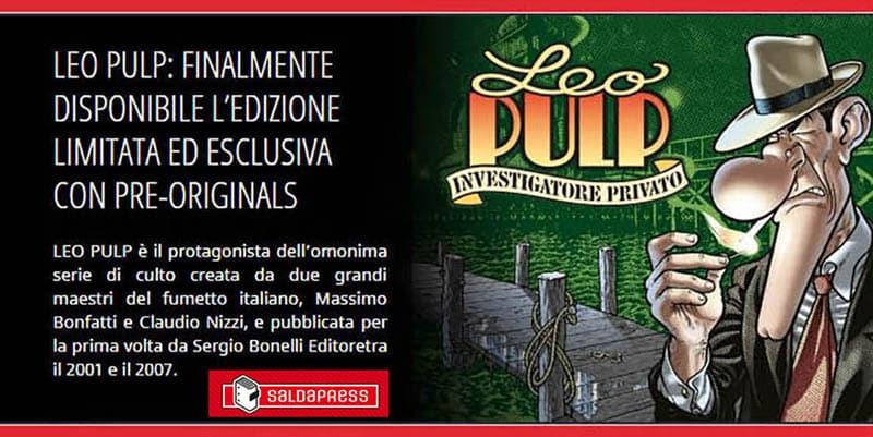 Arriva l'edizione limitata di Leo Pulp per collezionisti