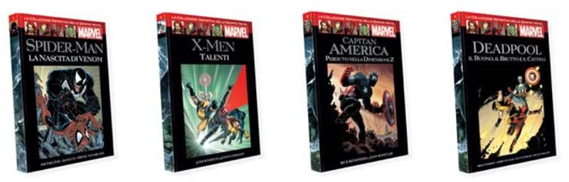 """In edicola """"La collezione definitiva delle graphic novel Marvel"""""""