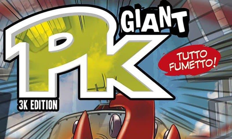 """PK Giant riprende in versione """"Double"""""""