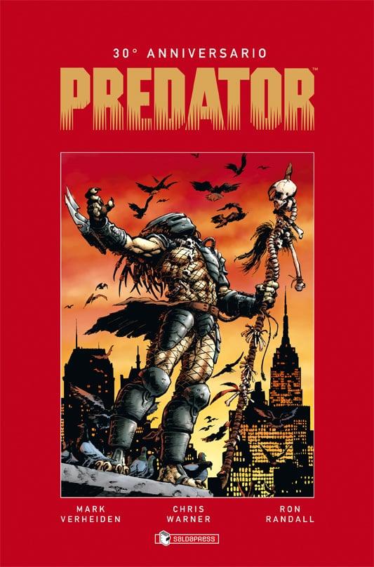 """Il 31 agosto esce il volume saldaPress """"Predator 30° Anniversario"""""""