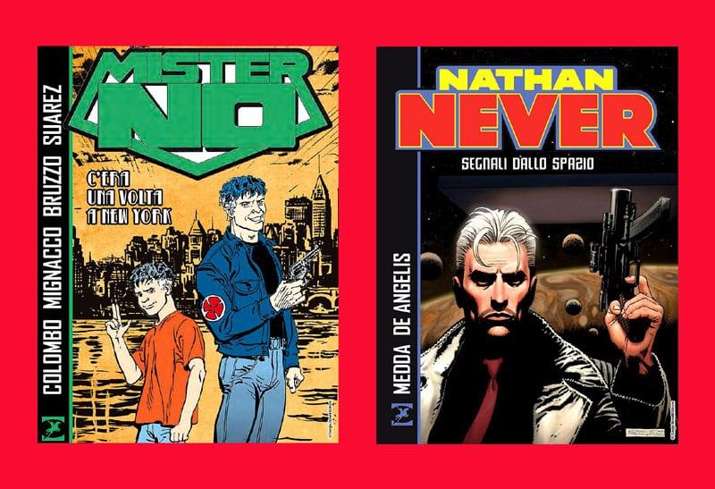 Le nuove uscite Bonelli in libreria: Mister No e Nathan Never