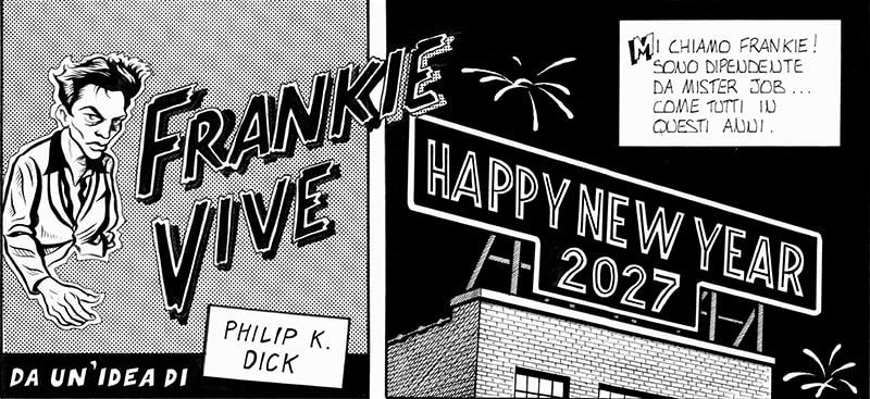 McGuffin Comics presenta: Frankie Vive! (Stefano Alghisi)