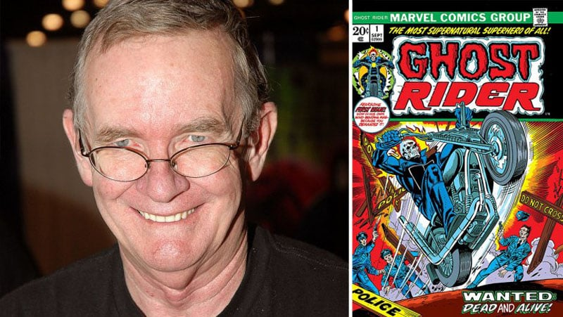 Si è spento Gary Friedrich, co-creatore di Ghost Rider