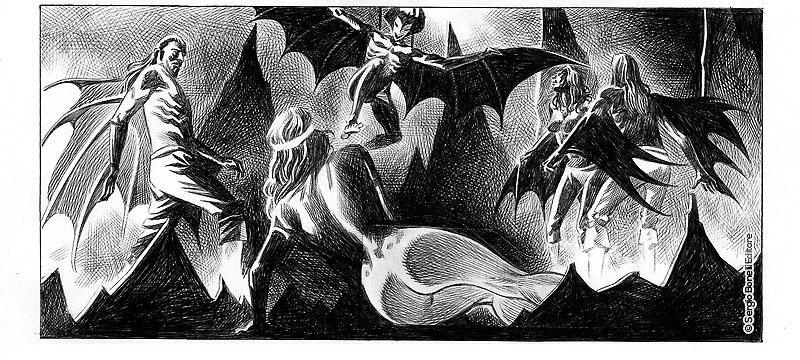 Dampyr #221 – Pianeta di sangue (Giusfredi, Fortunato)