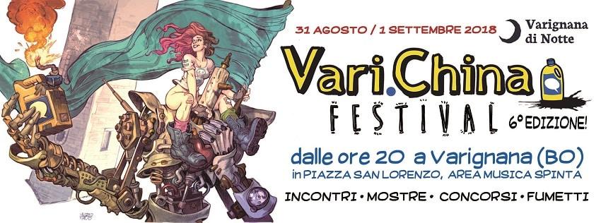 Inizia domani la sesta edizione del festival sul fumetto d'autore Vari.china.