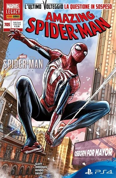 Amazing Spider-Man #705 - L'ultimo volteggio (Slott, Immonen)_BreVisioni