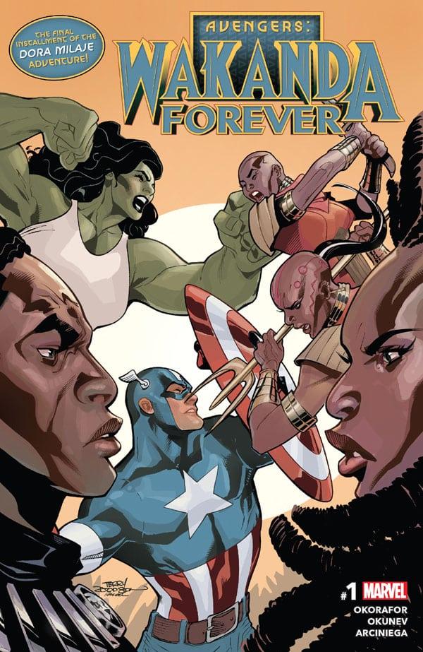 Avengers - Wakanda Forever 1