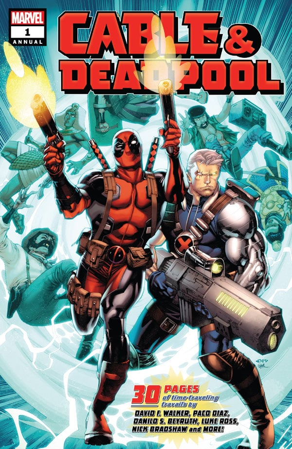 Cable-Deadpool Annual 1