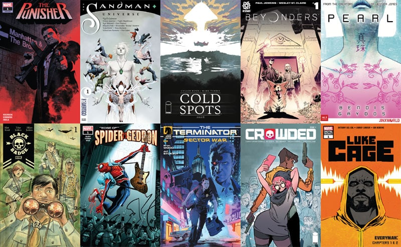 First Issue #30: il caldo agosto dei comics statunitensi