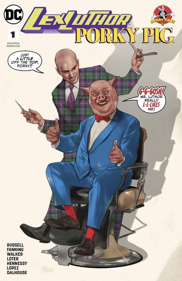 Lex Luthor-Porky Pig 1