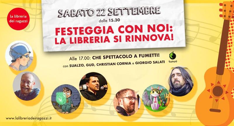 La Libreria dei Ragazzi di Milano si rinnova