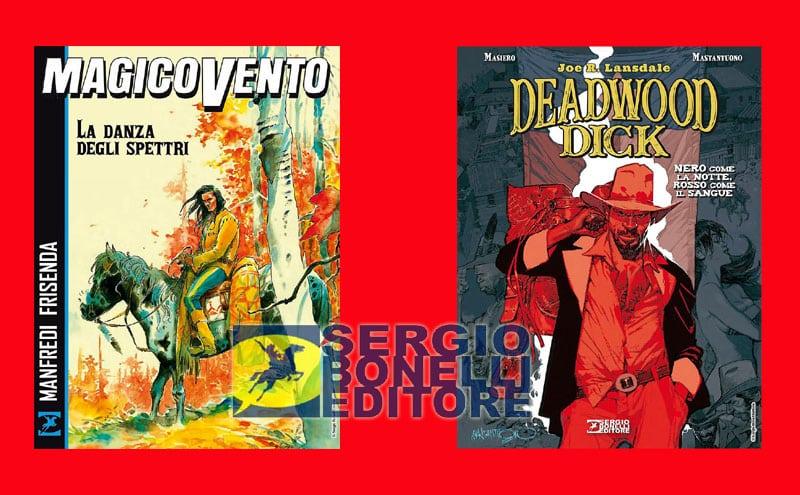 Arrivano in libreria Magico Vento e Deadwood Dick